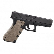 Talongrip Glock 17, 22, 24, 31, 34, 35, 37 Gen4 Coyote - large backstrap -  KOMFORT