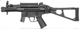 H&K MP5K - SP5K 9mm Luger - pistole samonabíjecí